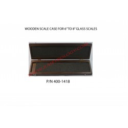 """WOOD CASE 6""""--8"""" SCALE"""