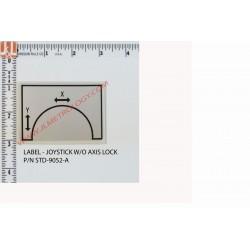 JOYSTICK W/O AXIS LOCK