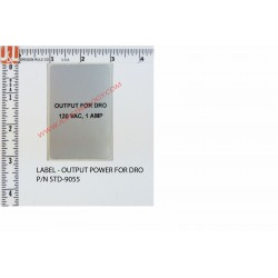 OUTPUT POWER FOR DRO