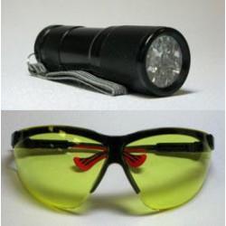 LED UV Flashlight and...